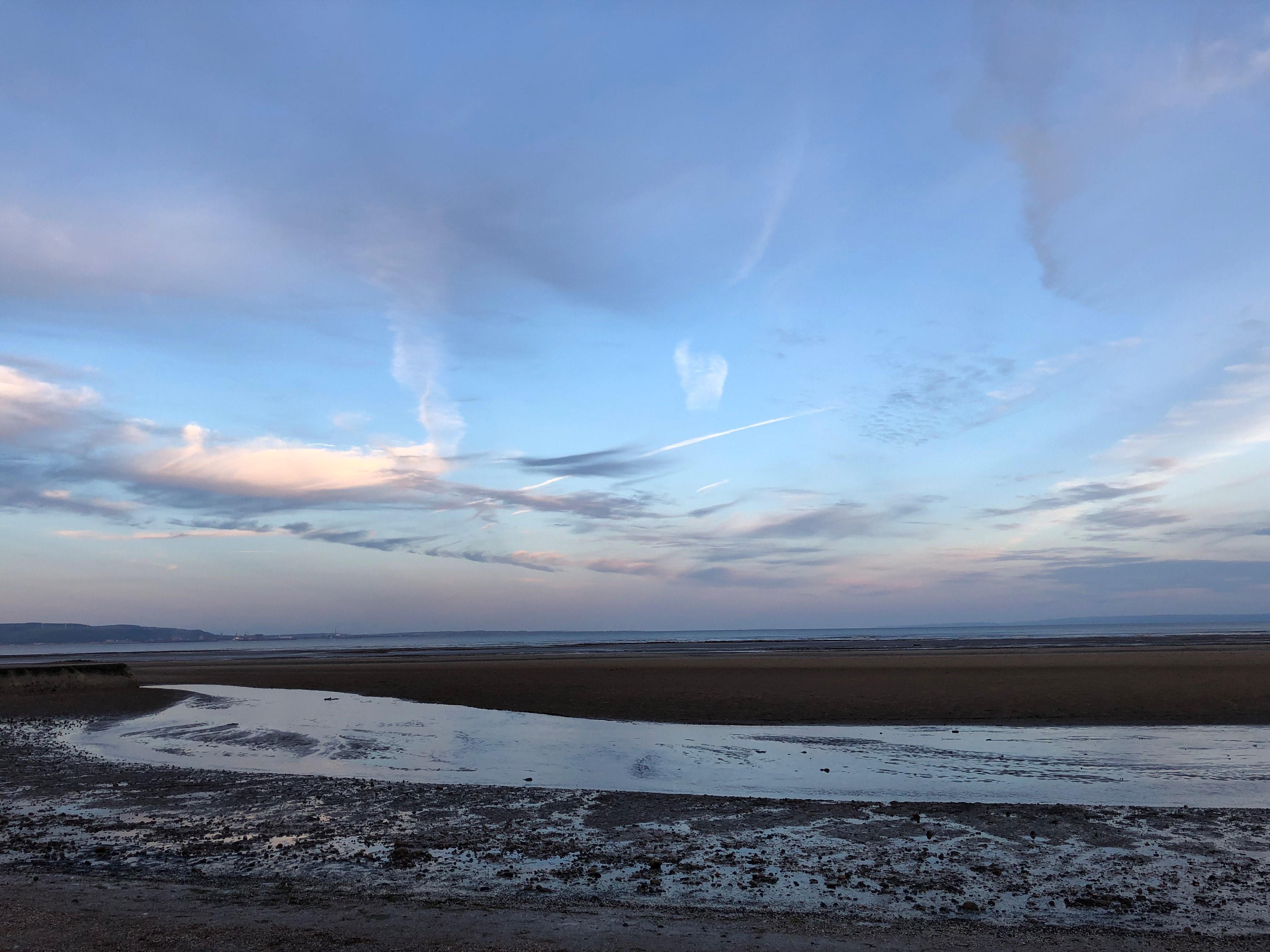 Ocean scene near Swansea